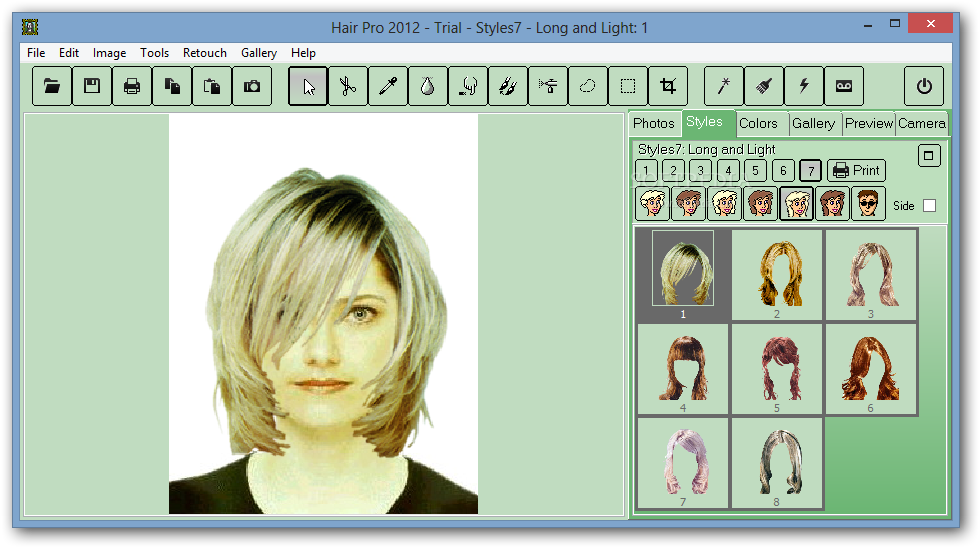 Download Hair Pro 2012