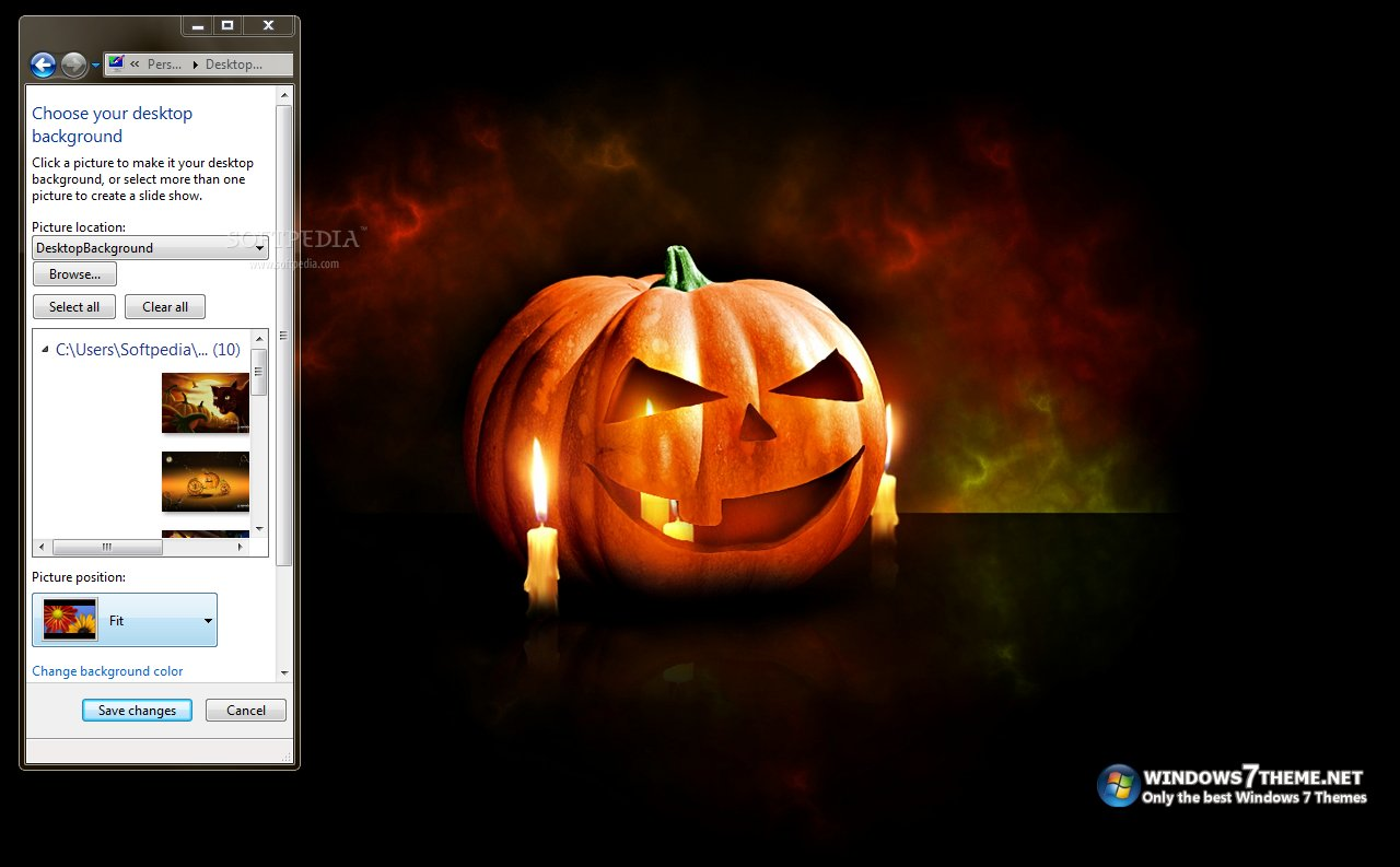 Download Halloween Windows 7 Theme With Sound 1 0