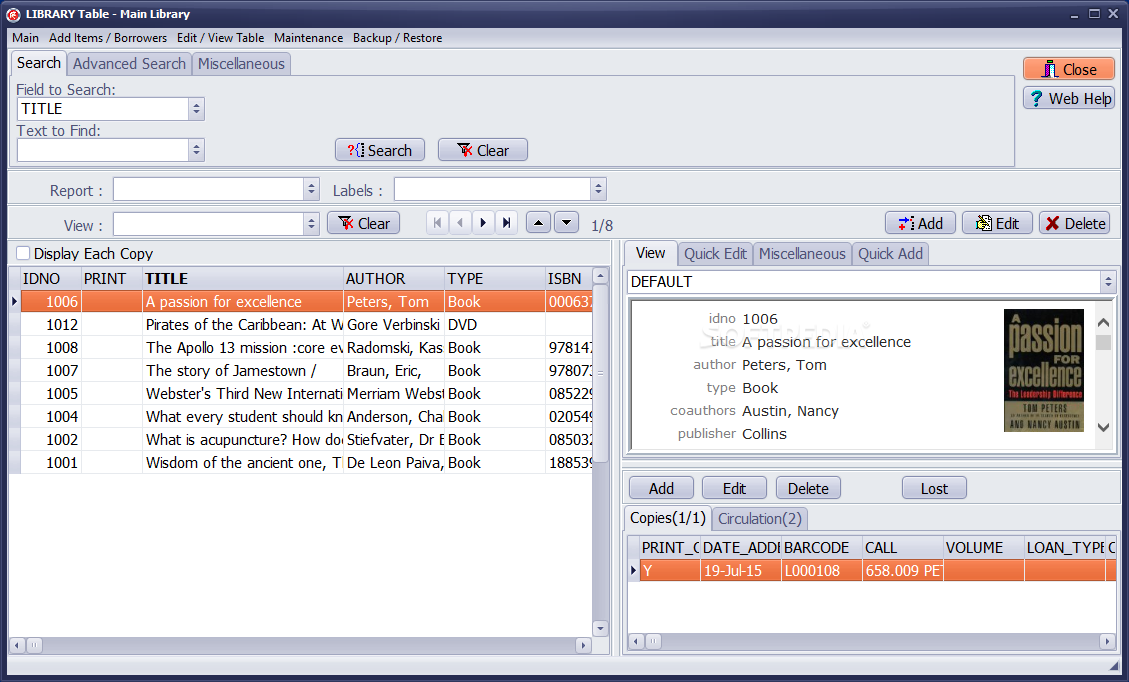 Download Handy Library Manager 2 6