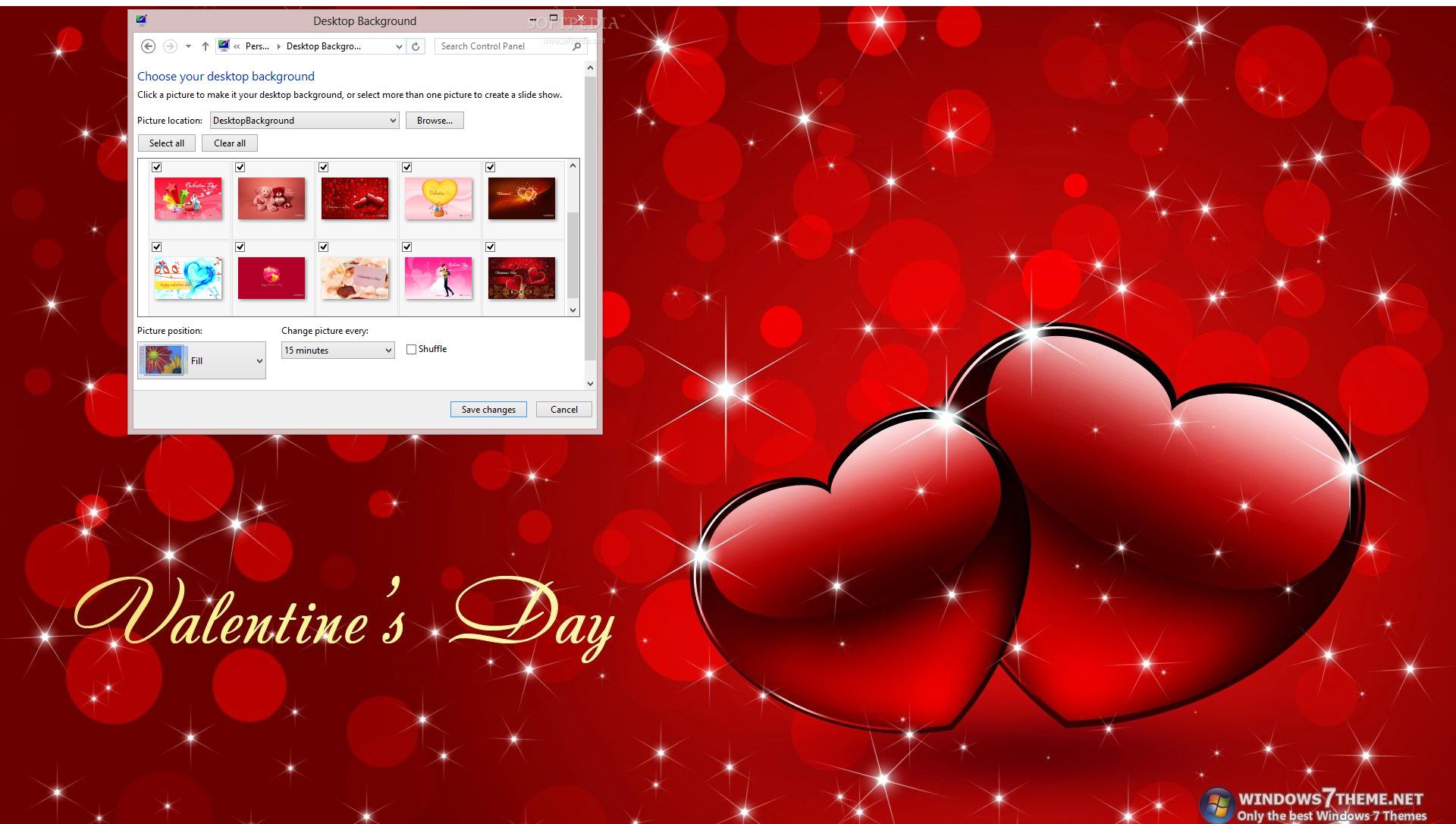Download Happy Valentine S Day Windows 7 Theme 1 00