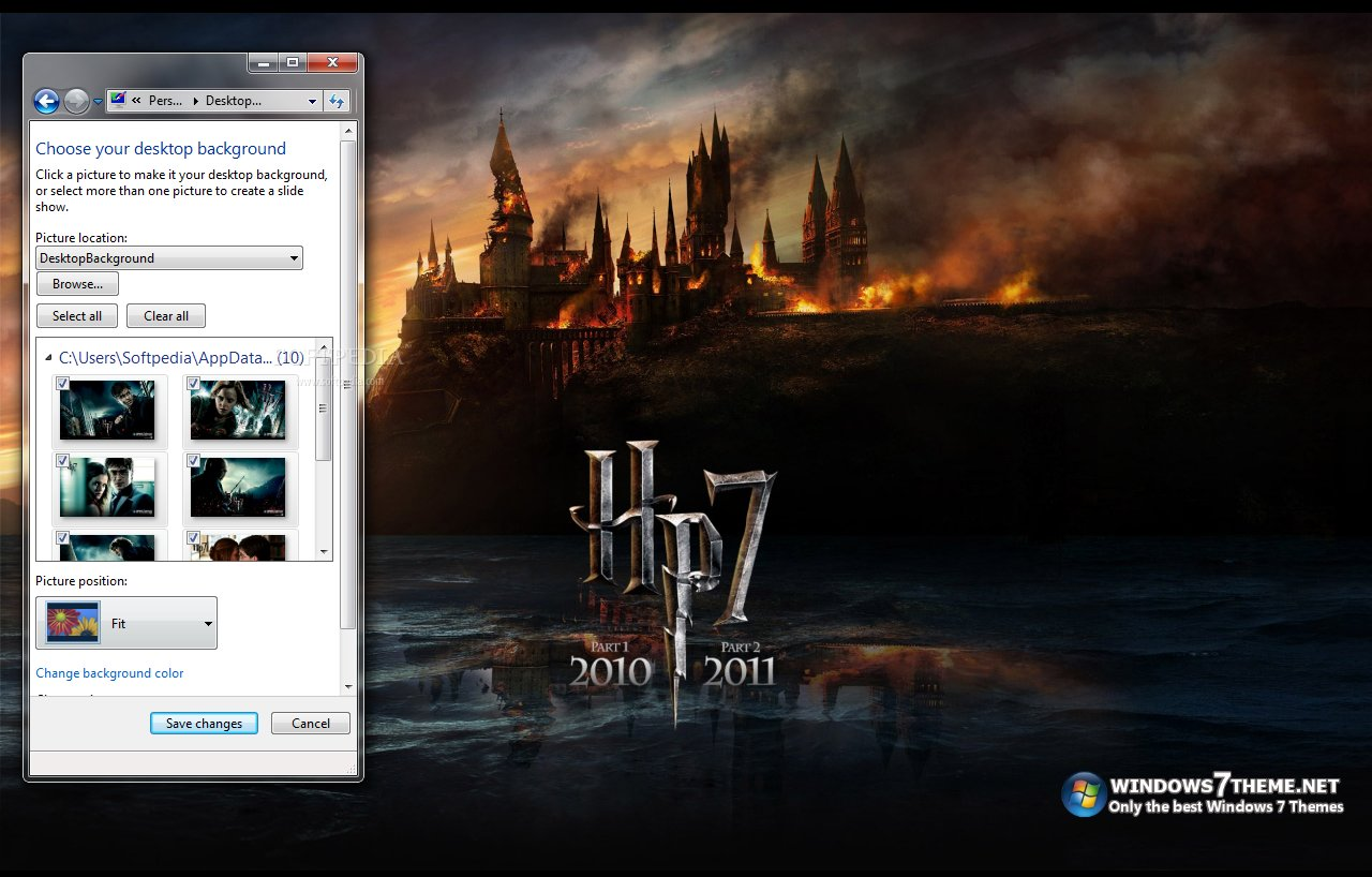windows harry potter theme -#main