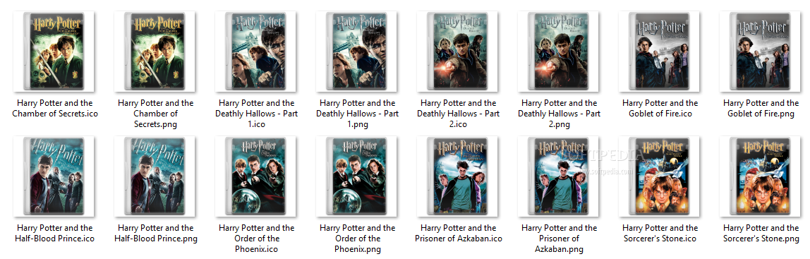 Icons Harry Potter Mac Harry Potter Icon Pack Harry
