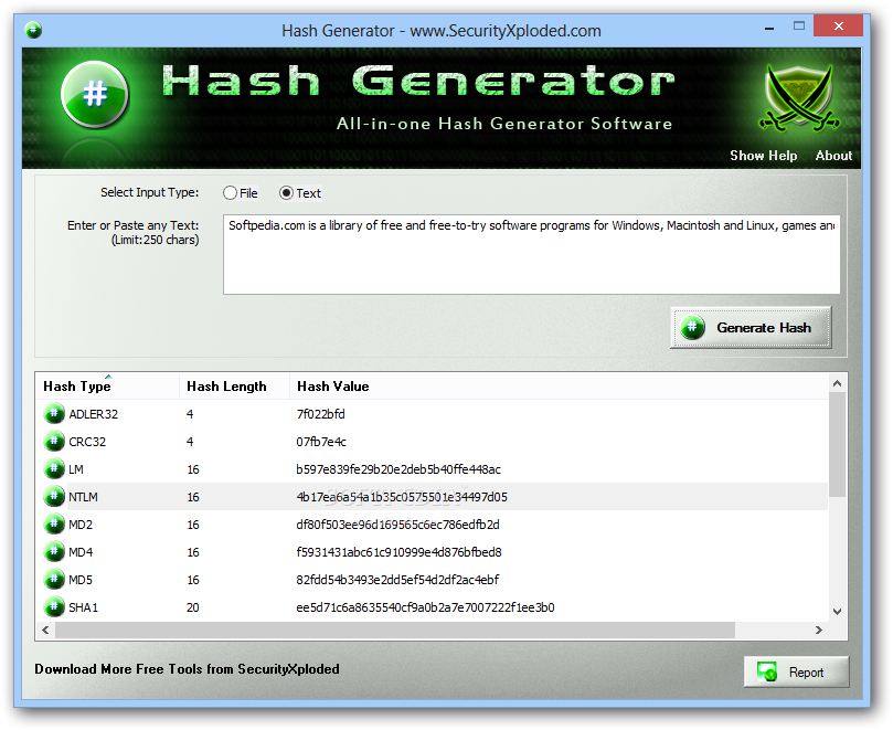 Download Hash Generator 6.0