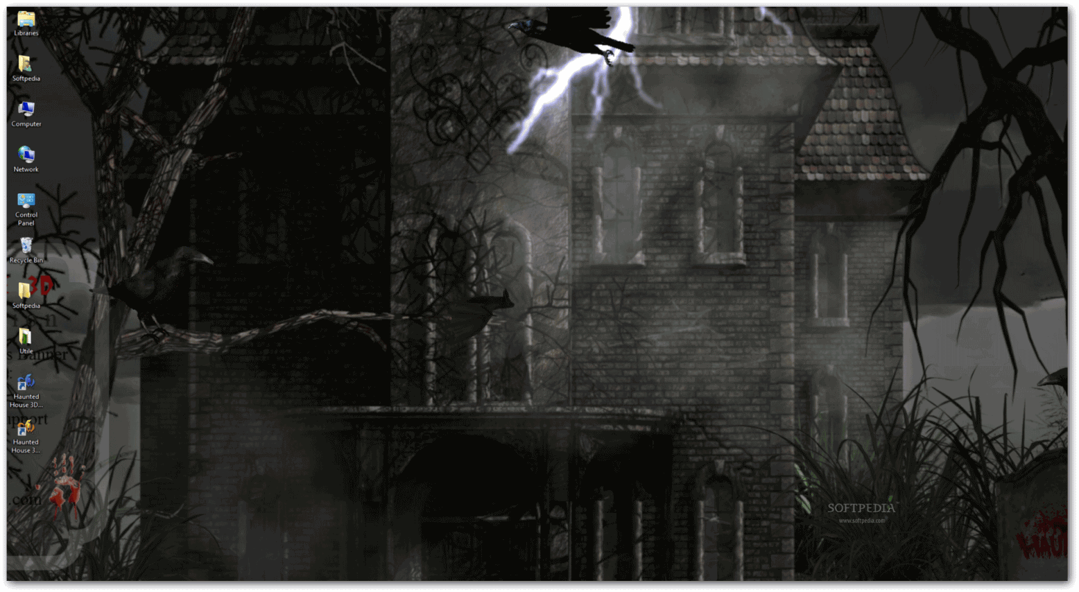 Haunted house 3d the evil lies within download for 3d wallpaper of house
