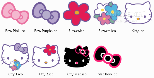 Download Hello Kitty Icons