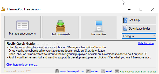 Download Hermes Podcast Downloader 3 3 11