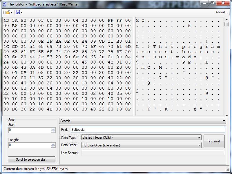 Download Hex Editor 0 5 0 0