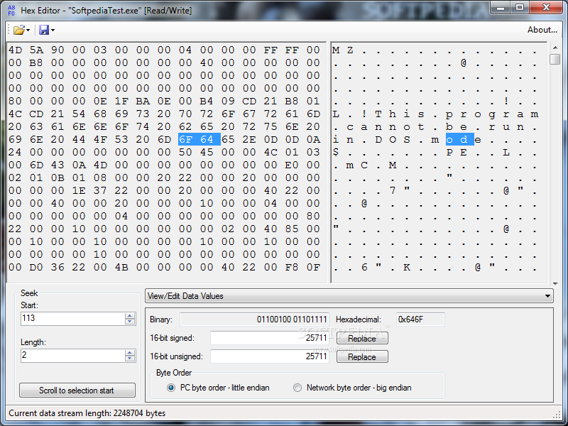 Download Hex Editor 0 5 0 0