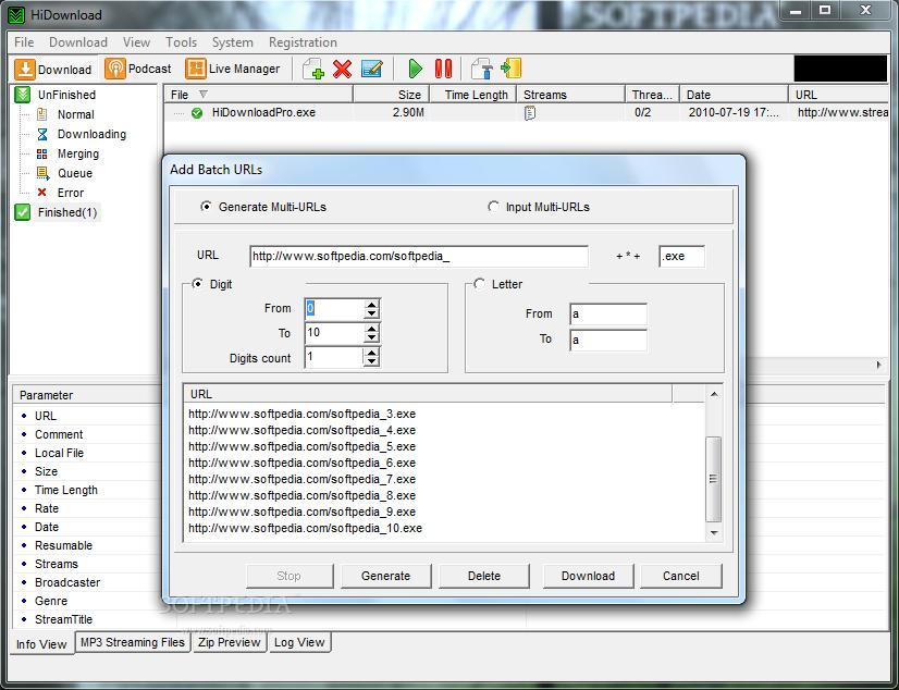 hidownload pro 7.87