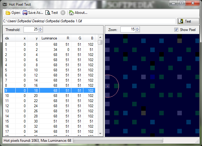 Download Hot Pixel Test 1.0.3.254