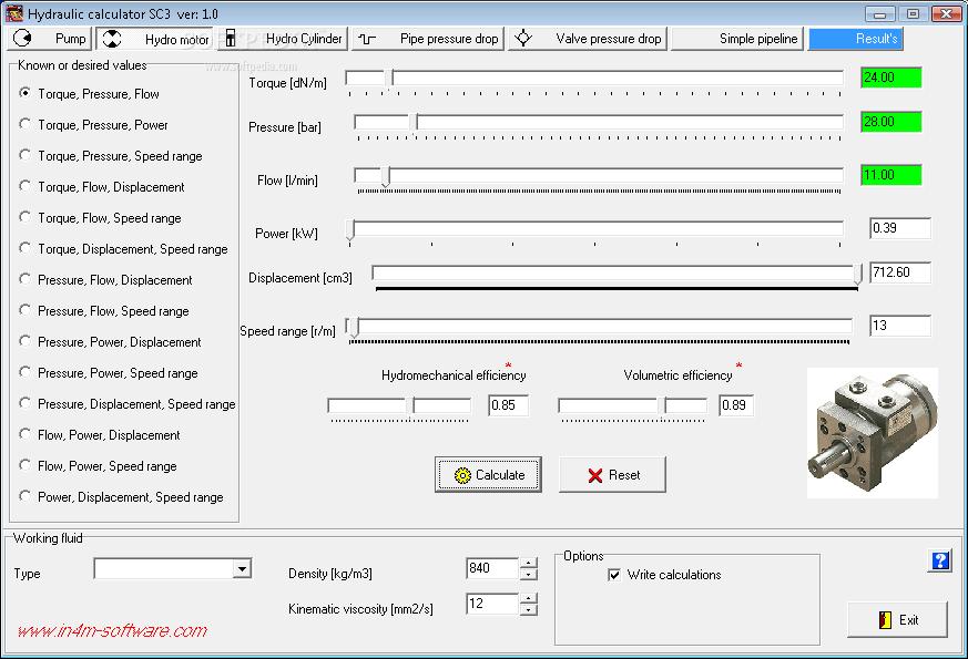 Download Hydraulic Calculator SC3 1 0