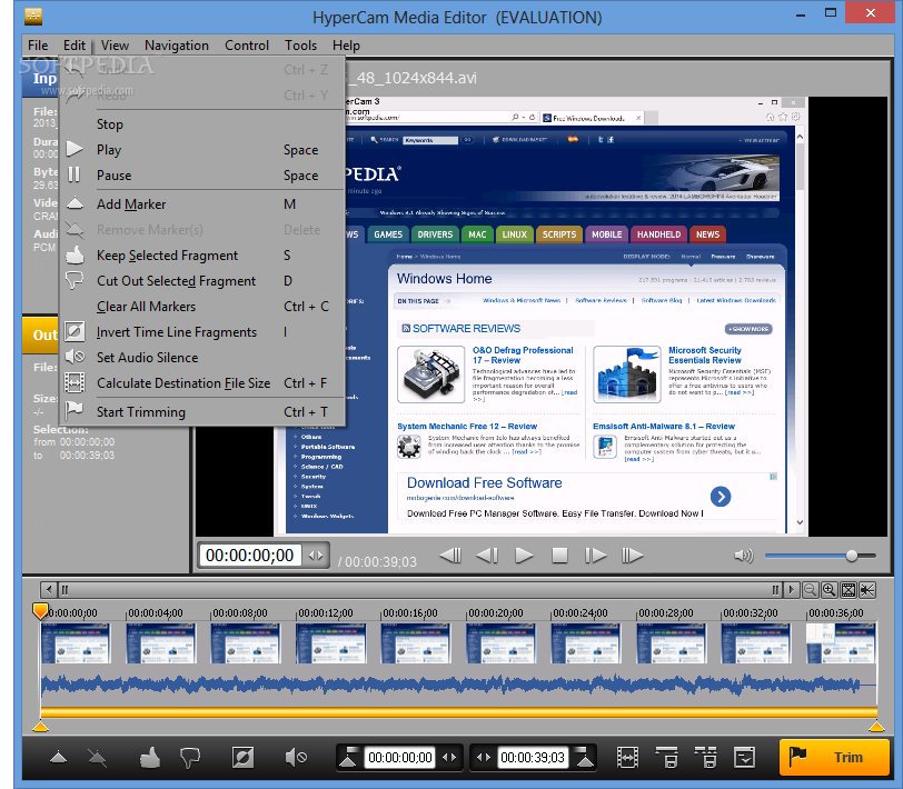 Download HyperCam Portable 5 1 1902 01