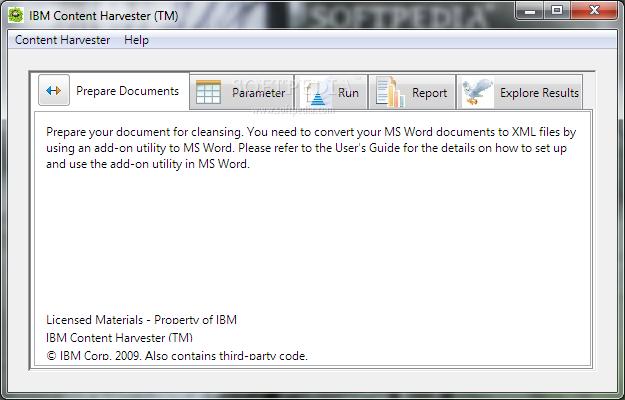 Download IBM Content Harvester 1 0