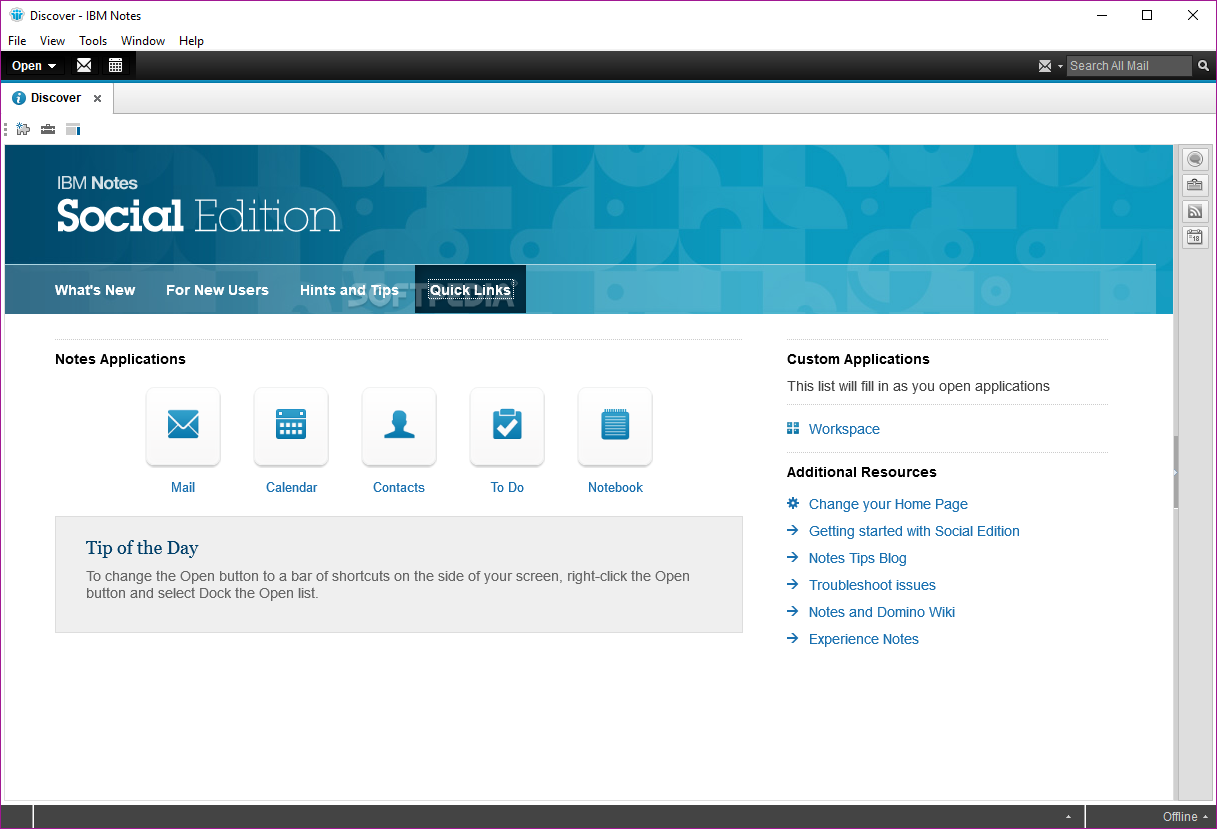 Download Ibm Notes 9 0 1 Social Edition