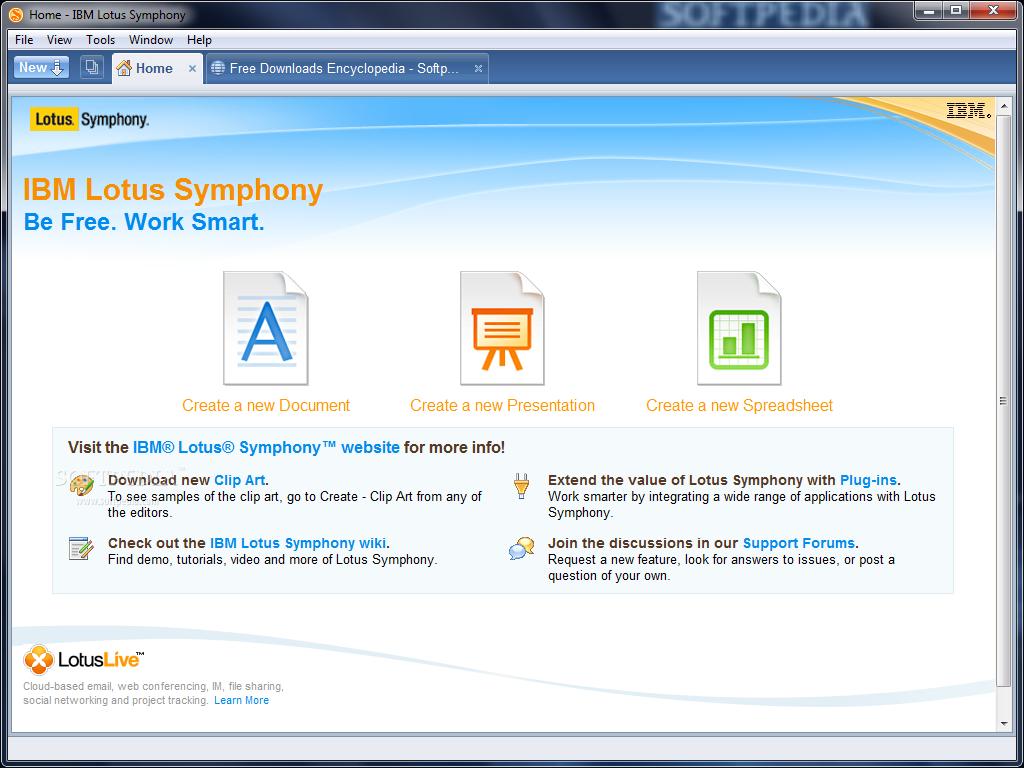 Download IBM Lotus Symphony 3 0 1