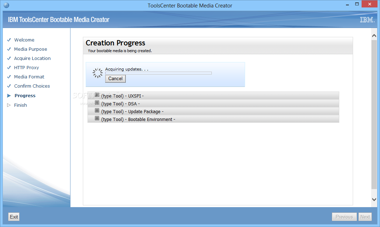 Download IBM ToolsCenter Bootable Media Creator 9 64 01