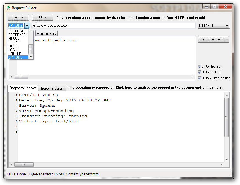 Debug HTTP API calls to a back-end and between back-ends