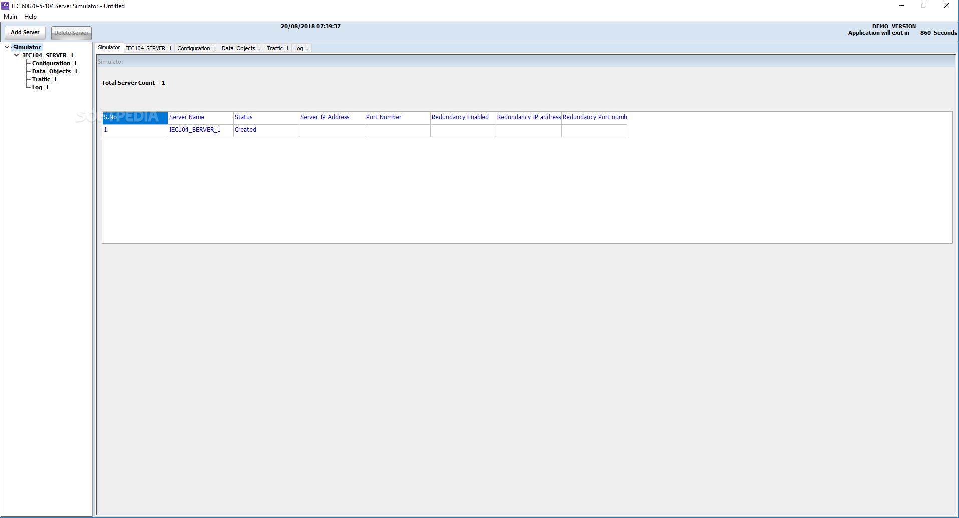Download IEC 104 Server Simulator 21 04 8 0