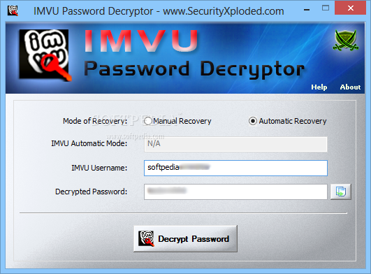 Decrypt Password Online