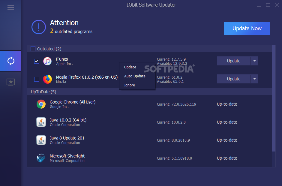 Download IObit Software Updater 2 1 0 2663