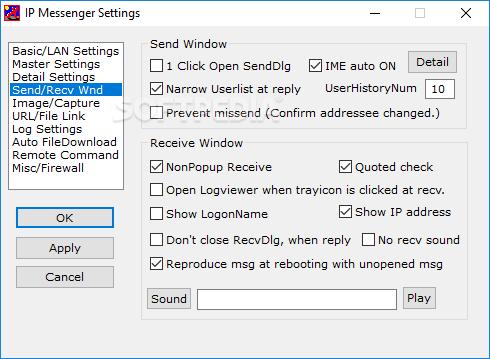 IP Messenger 4.99 Release 6