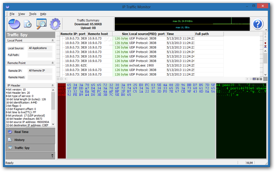 Download IP Traffic Monitor 3 3