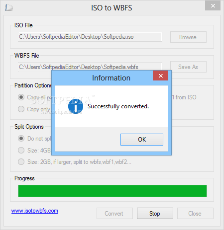 Download ISO to WBFS 1 0