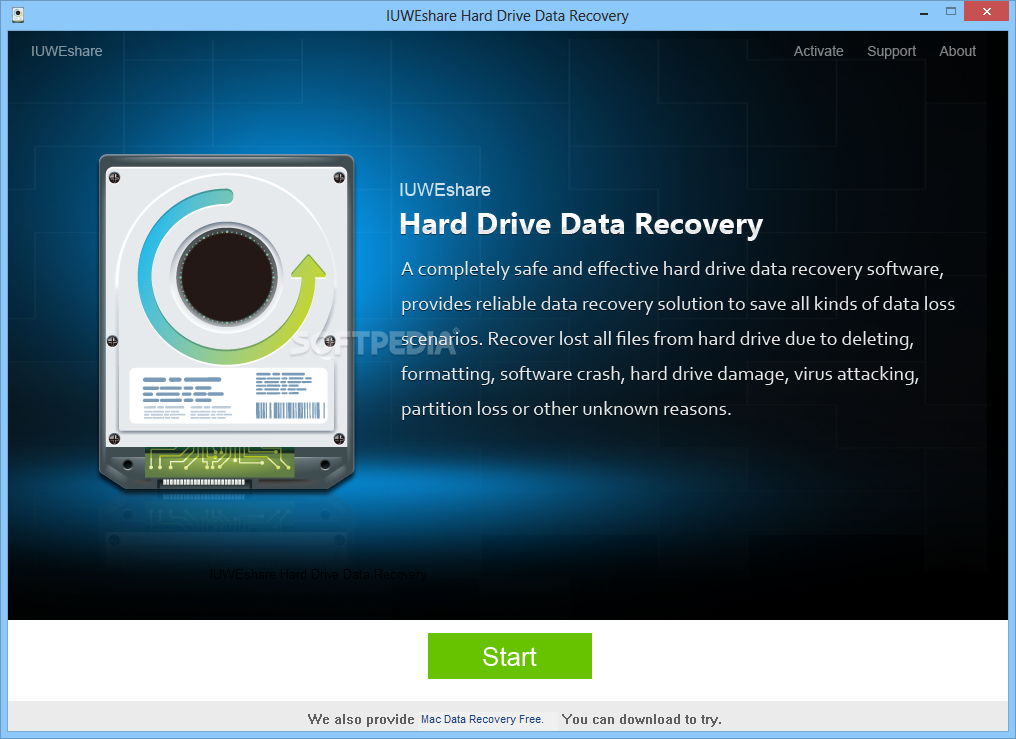 hard disk data recovery software with crack