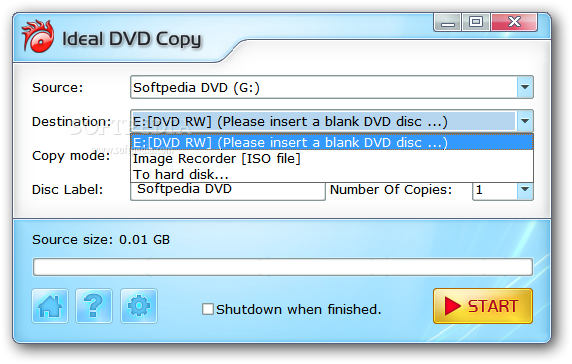 Download Ideal DVD Copy 4 3 2