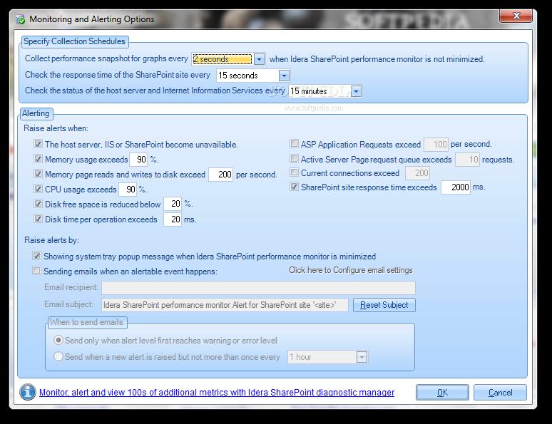 Download Idera SharePoint performance monitor 2 5 0 22