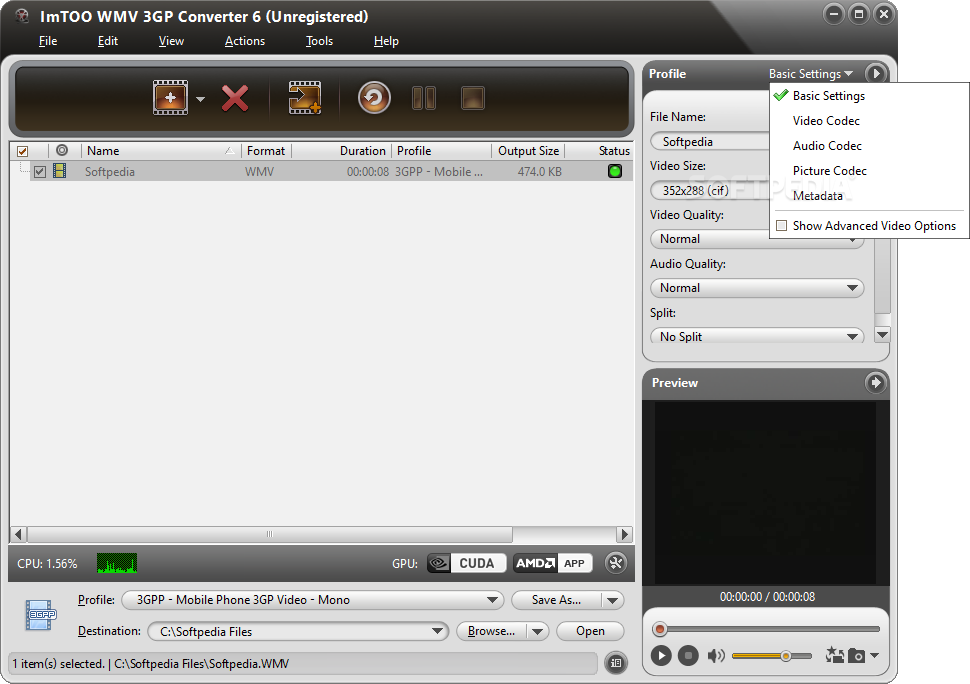 ImTOO FLV to MOV Converter 6 6.0.2.0528 + serial/keygen/crack.