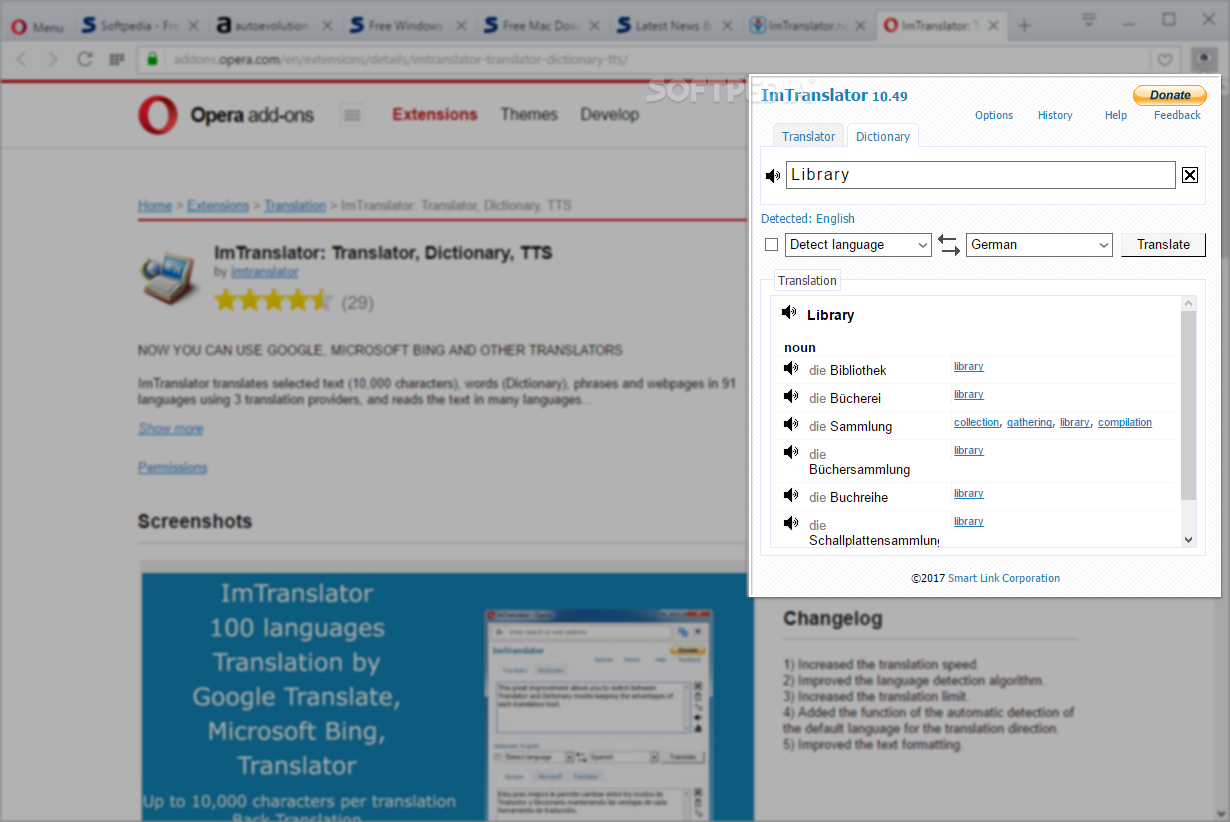 Download ImTranslator for Opera 15 30