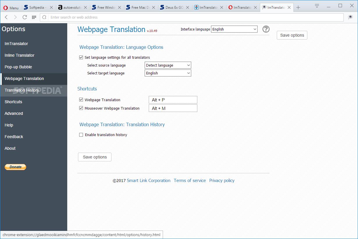 Download ImTranslator for Opera 15 30