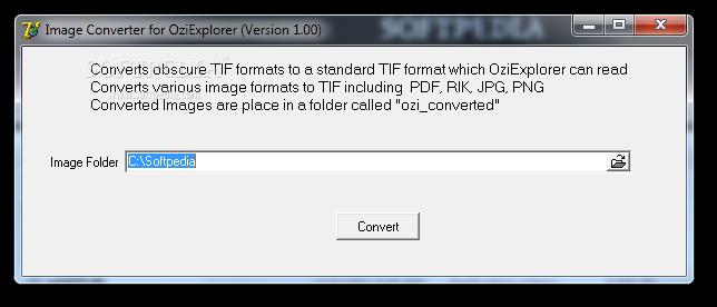 Download Image Converter for OziExplorer 1 00