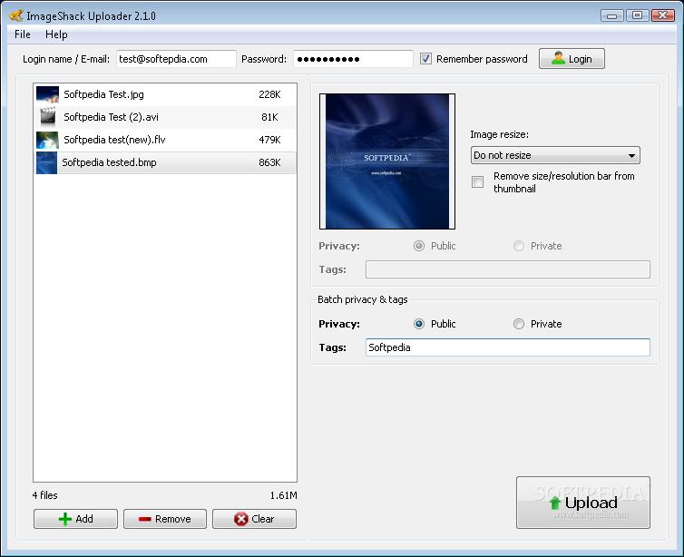 imageshack uploader 2.2.0