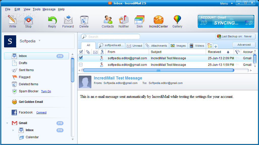 incredimail 2.5 en francais pour windows 7