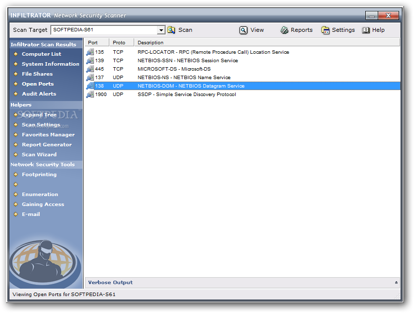 Download Infiltrator Network Security Scanner 4 60