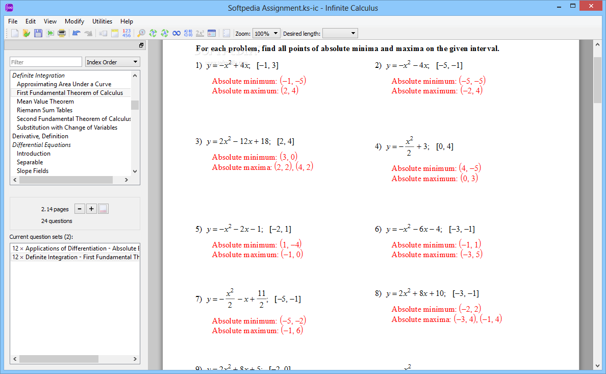 Printables Calculus Optimization Worksheet calculus optimization worksheet davezan plustheapp