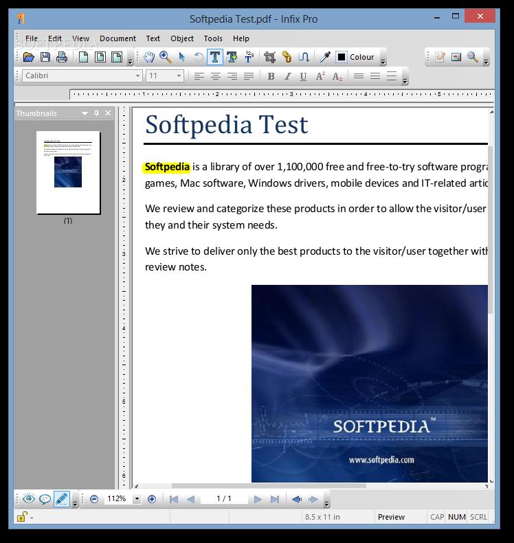 Infix PDF Editor Pro 7.3.2 + Portable PDF File Editing