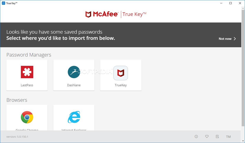 Download McAfee True Key 5.3.138.1