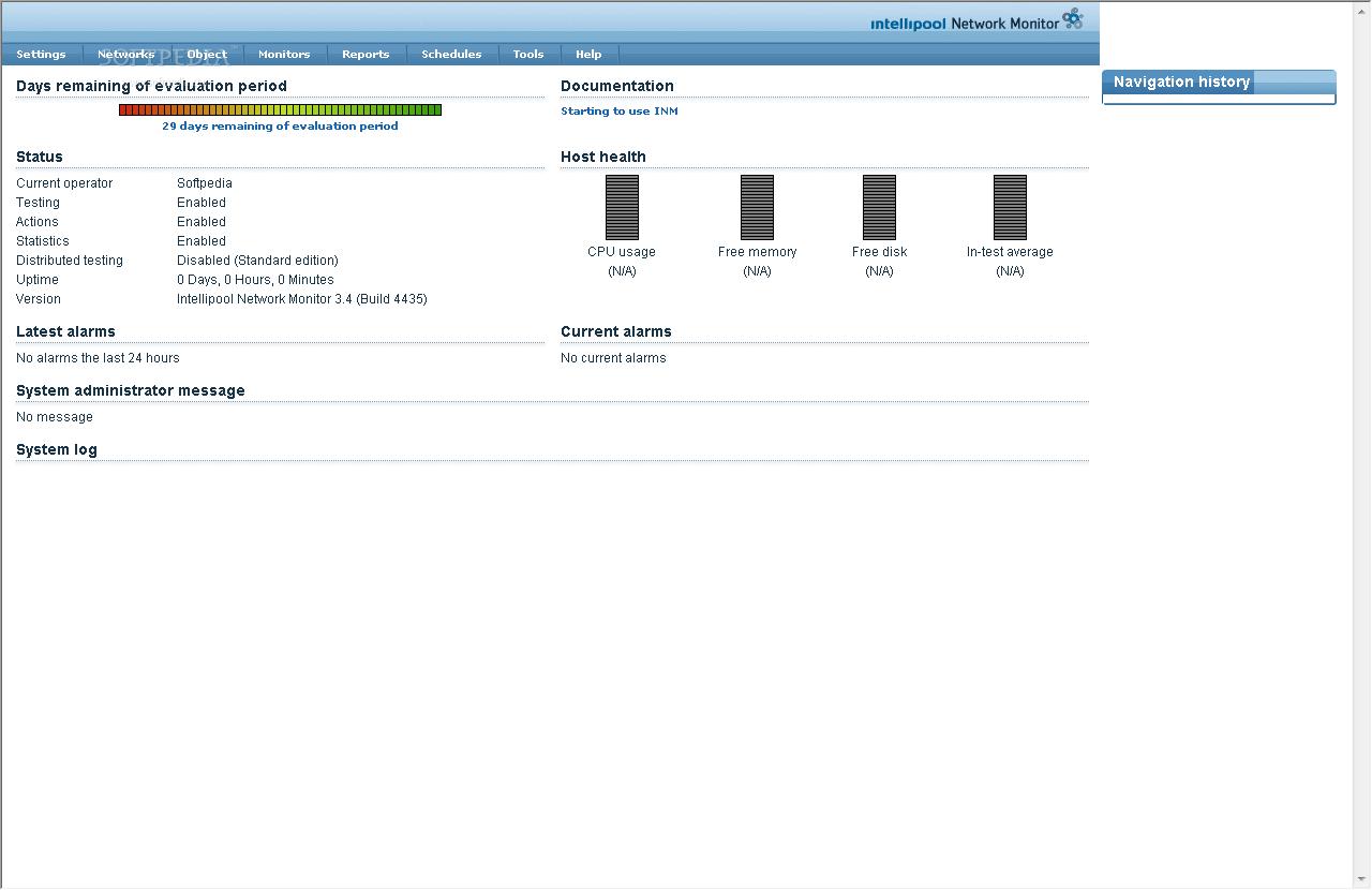 intellipool network monitor