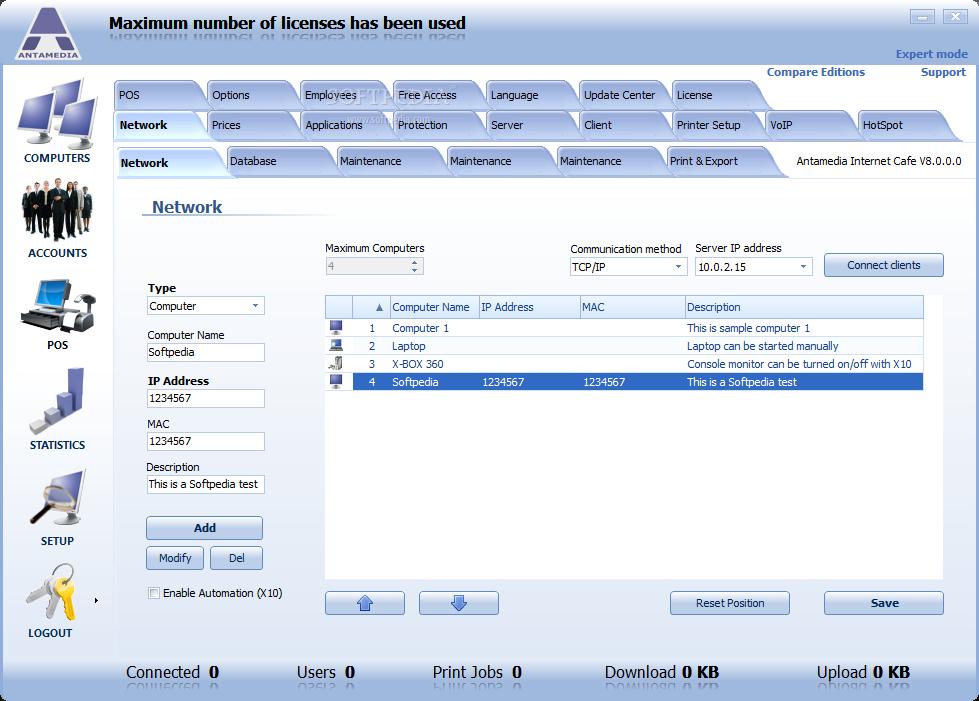 Download ANTAMEDIA Internet Cafe Software 10 1 0