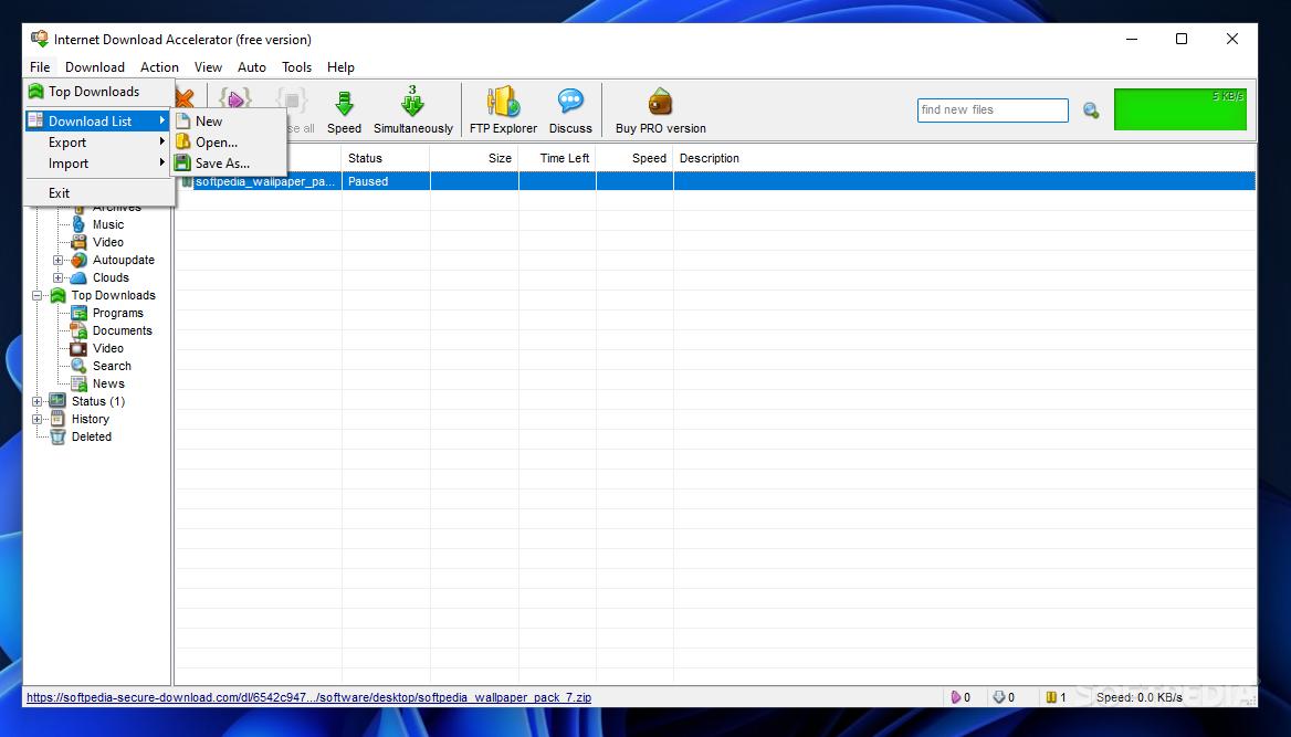 Download Internet Download Accelerator 6 19 1 1641
