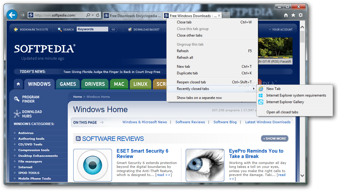 free download latest internet explorer 10 for windows 7 32 bit