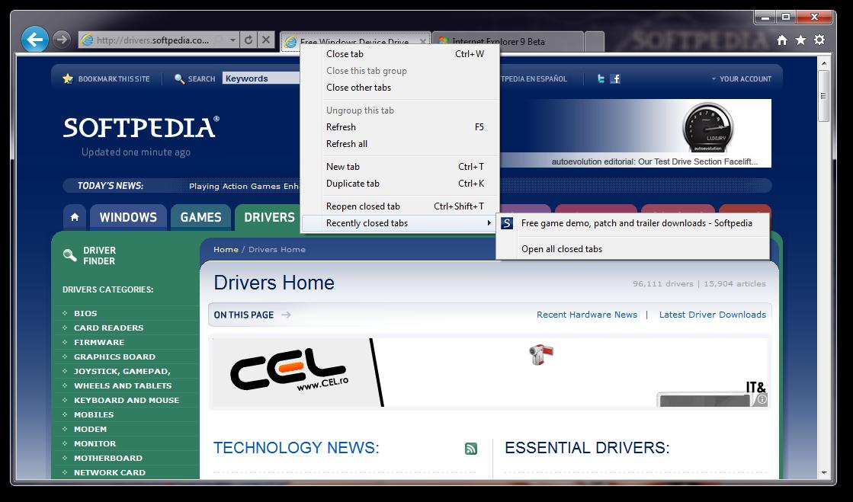 free download internet explorer 9 for windows 7 offline installer