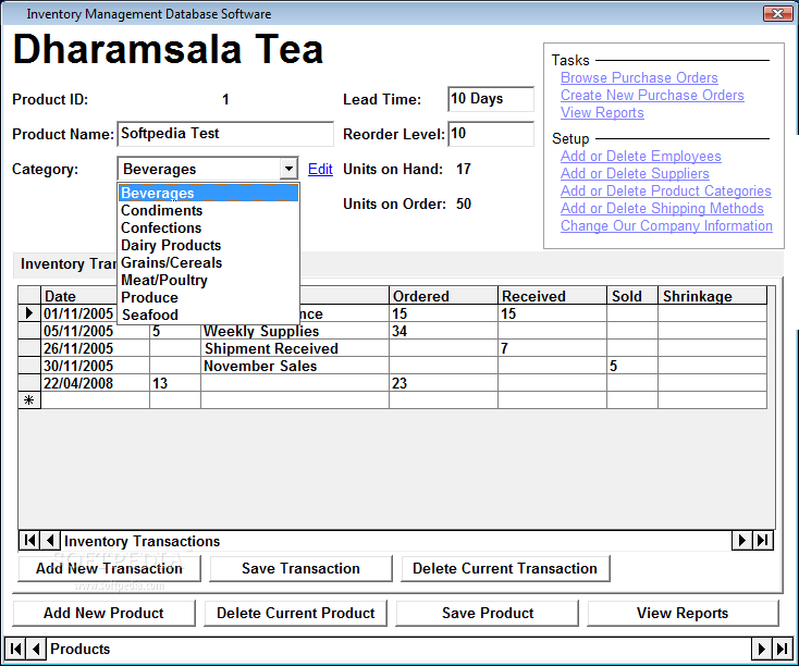 Inventory Management Database Software Download