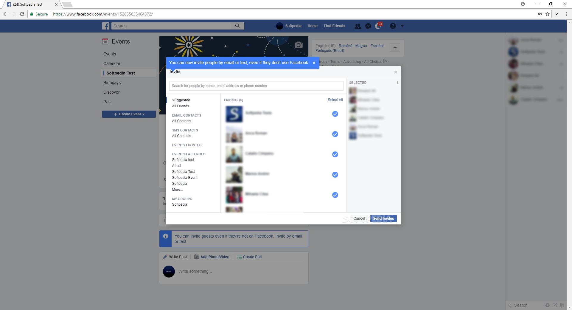 facebook inviter chrome download free