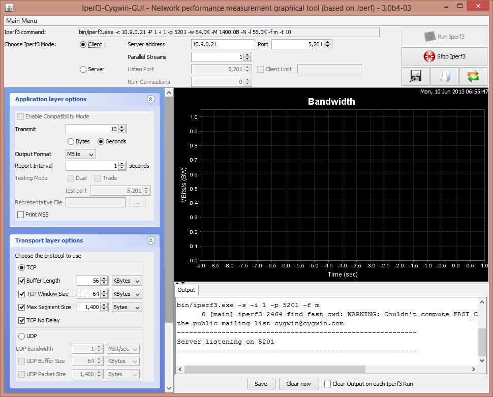 Download Iperf3-Cygwin-GUI 3 0b4-03