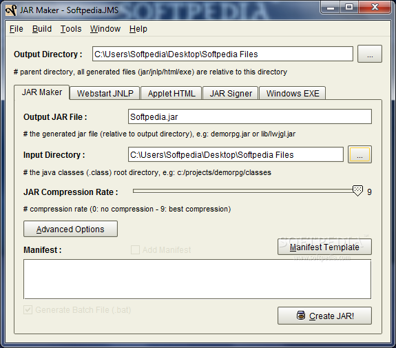 how to create executable jar file in java