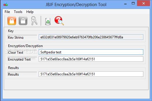 Download JBJF Encryption/Decryption Tool 1 1 0